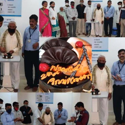 Nandadeep Eye Hospital Jath 2nd Anniversary
