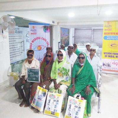 Nandadeep Eye Care Foundation Camps